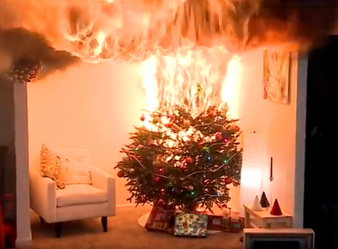 The Little Christmas Tree That Kept Catching On Fire
