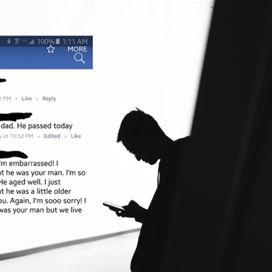 This Thirsty AF Guy Used His FB Friend's Heartbreaking Post About His Father's Death To Hit On Him