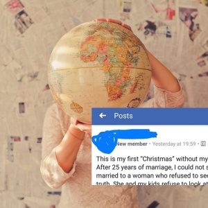 This Flat Earther Explained Why He Spent Christmas Alone In This Hilariously Bizarre Facebook Post