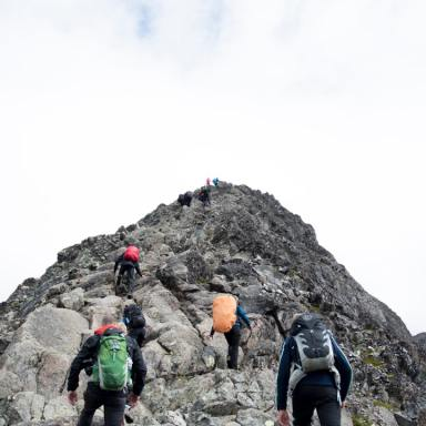 What Climbing A Mountain Taught Me About Fear