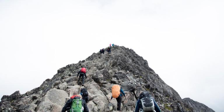 What Climbing A Mountain Taught Me AboutFear