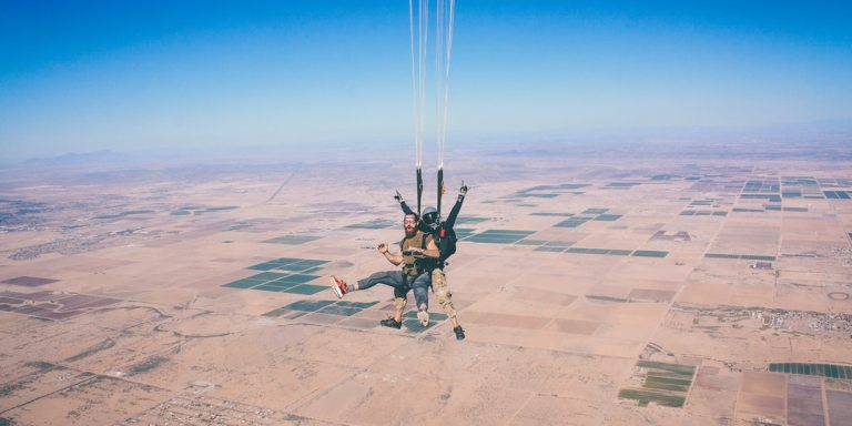 This Is Why Skydiving Is Good ForAnxiety