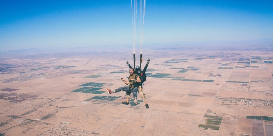 This Is Why Skydiving Is Good For Anxiety