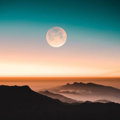 This Full Moon In Libra, I Will Find Peace Alongside Myself