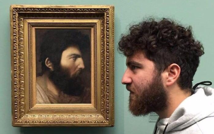 These People Found Their Doppelgängers In Art Museums And It'll Make You Believe InReincarnation