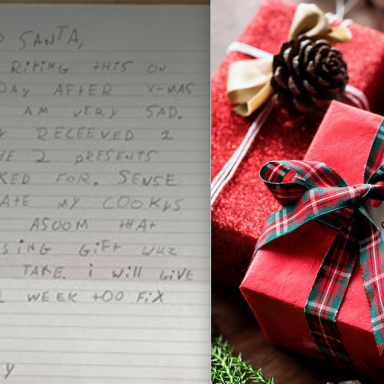 This Boy Didn't Get Everything He Wanted For Christmas, So He Decided To Get Back At Santa With These Hilarious Letters