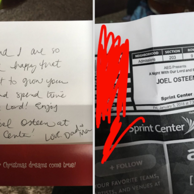 These Parents Pranked Their Daughter By Swapping Out Her Lorde Tickets For Something A Little Holier