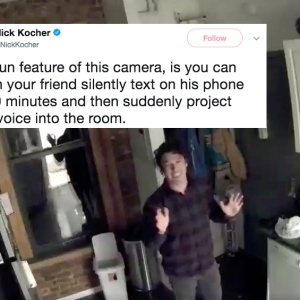 This Guy Wouldn't Stop Trolling His Friend With His Security Camera And A Full-Blown Prank War Ensued