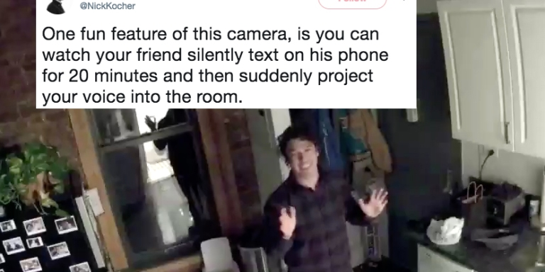 This Guy Wouldn't Stop Trolling His Friend With His Security Camera And A Full-Blown Prank WarEnsued