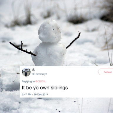 This Girl Left A Savage Note For Santa In The Snow And It's Super Relatable To Anyone Who Has Siblings