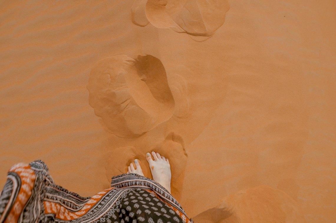 feet in the nice nice sand