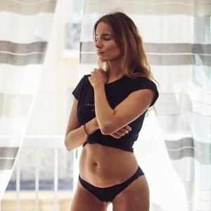 girl in a bikini waiting