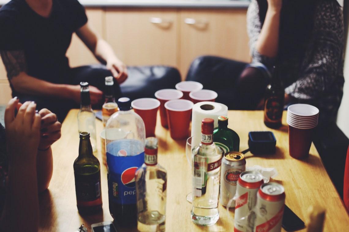 friends drinking