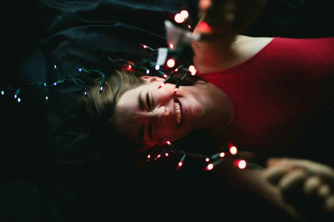 girl with lights, bold faith, let your faith be bigger than fear