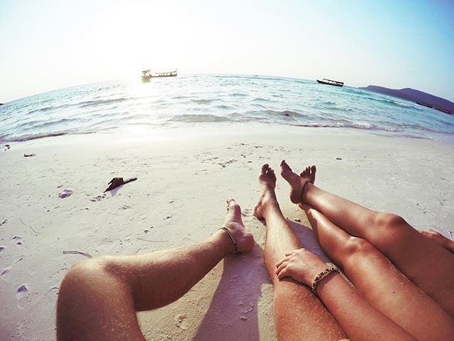 couple holding hands on beach, beach couple, loving you is my plan, love