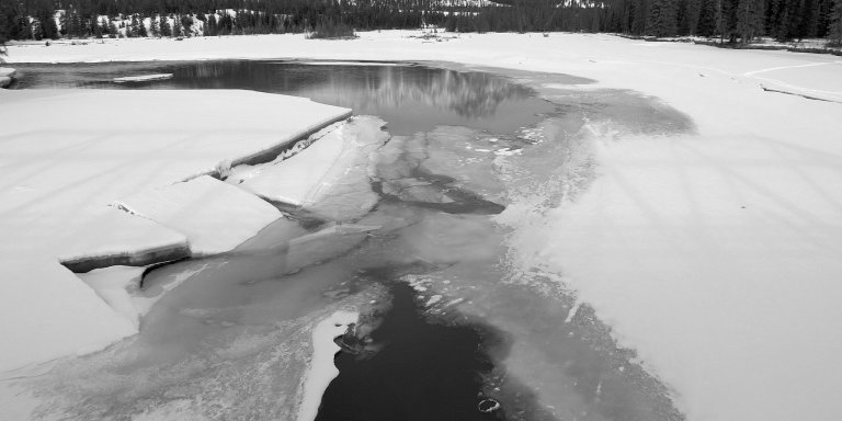 There's Something Knocking Under The Frozen Lake, And I Think It's Trying To Warn Us
