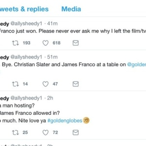 Actresses Are Accusing James Franco Of Sexual Misconduct After His Controversial Golden Globes Win