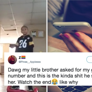 This Guy's Little Brother Is Trying To Steal His Girl And It's Hilarious AF