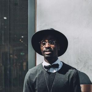 man in a fancy hat