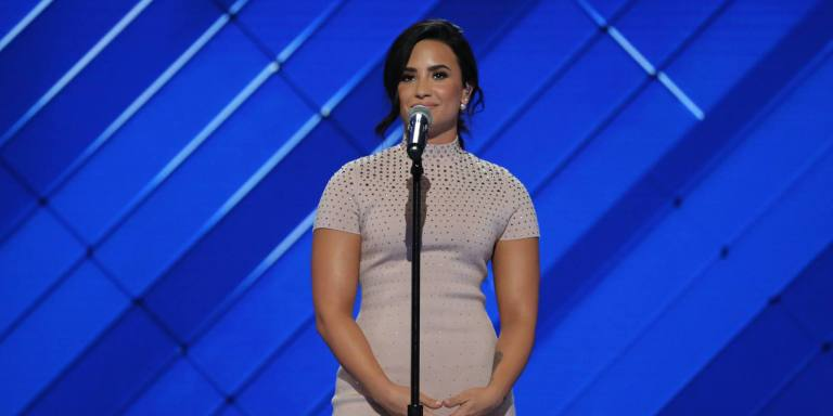 Demi Lovato Posted A Picture On Instagram To Prove It's Possible To Recover From An EatingDisorder