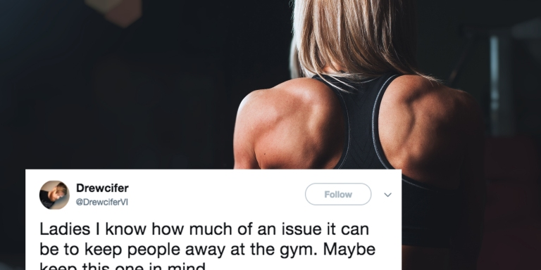 This Woman's Simple Trick To Avoid Getting Hit On At The Gym Is HilariouslyGenius
