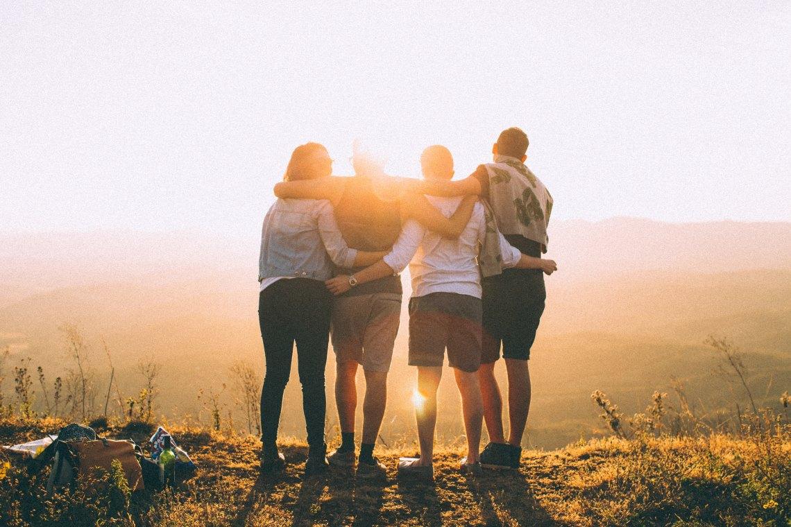 friend hug, group hug, hugging, meaningful, what matters