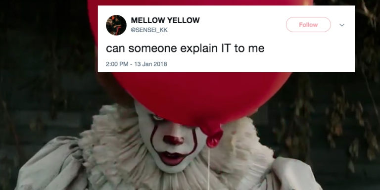 This Guy Asked Twitter To Explain The Movie 'It' And Now People Won't Stop TrollingHim