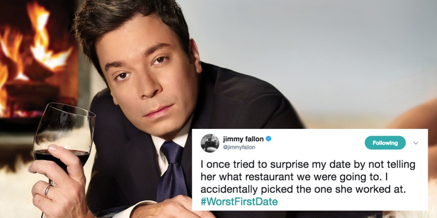 Jimmy Fallon Asked His Fans To Share Their Worst First Date Stories On Twitter And They'reHilarious