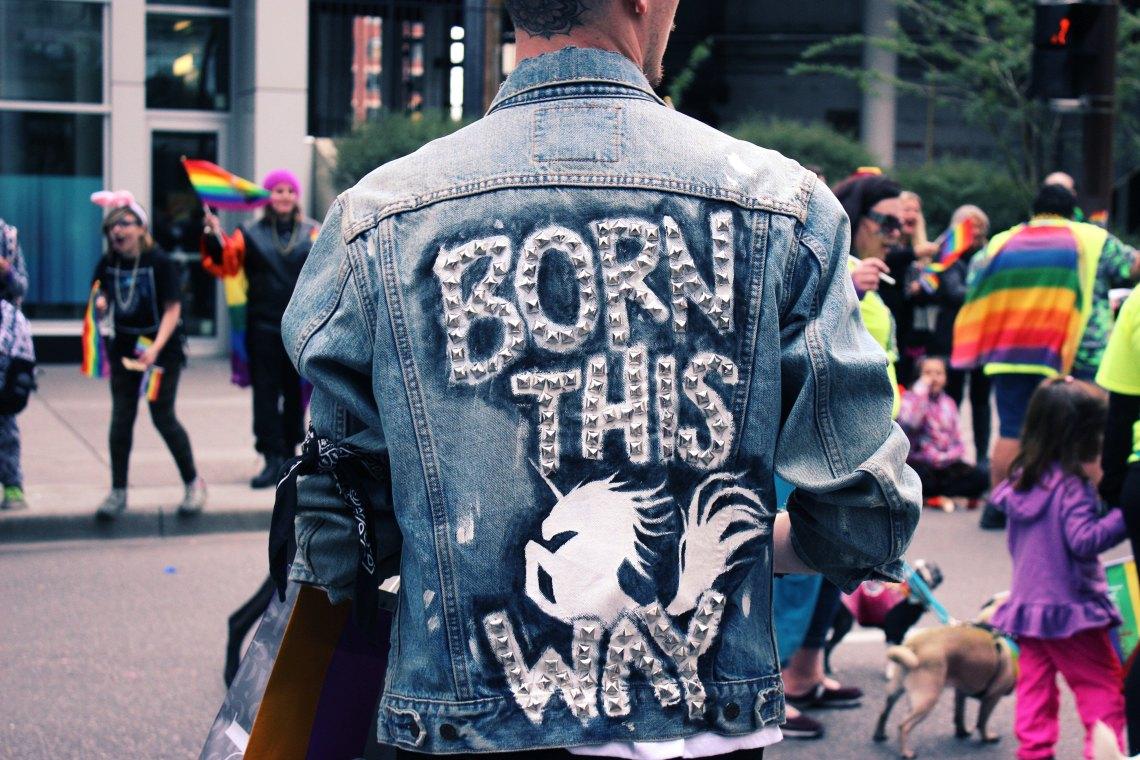born this way jacket