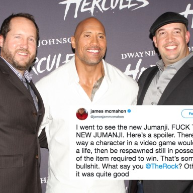 Dwayne 'The Rock' Johnson Just Brutally Dragged This Fan Who Had A Problem With His New Movie