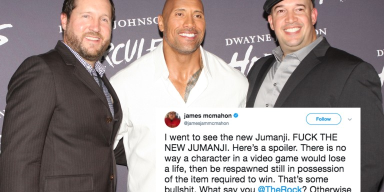 Dwayne 'The Rock' Johnson Just Brutally Dragged This Fan Who Had A Problem With His NewMovie