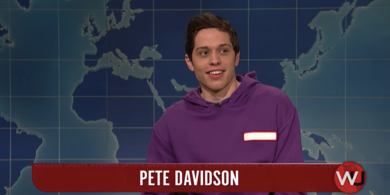 I'm Just A Girl Standing In Front Of Pete Davidson Asking Him To LoveHer