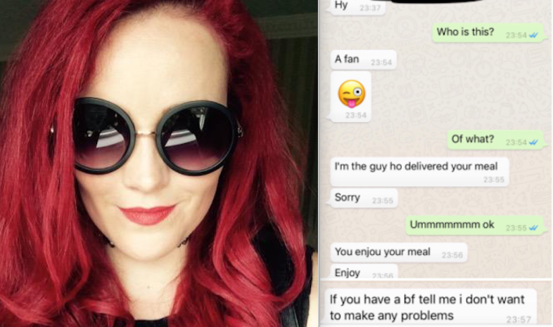 Michelle MidWinter and the creepy texts the delivery man sent her