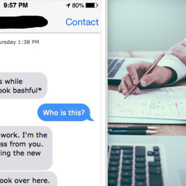 This Fuckboy Wouldn't Stop Harassing A Woman He Worked With, So She Shut Him Down In The Most Brutal Way
