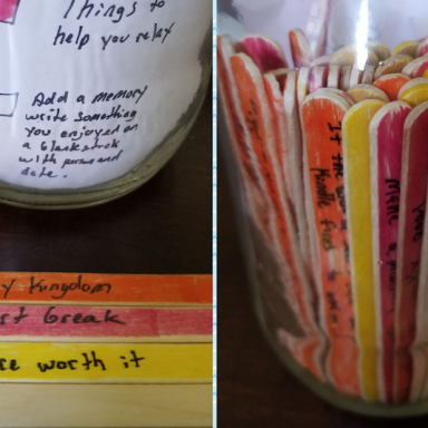 This Devoted Boyfriend Found A Simple Way To Help His GF With Her Depression And It's Beautiful