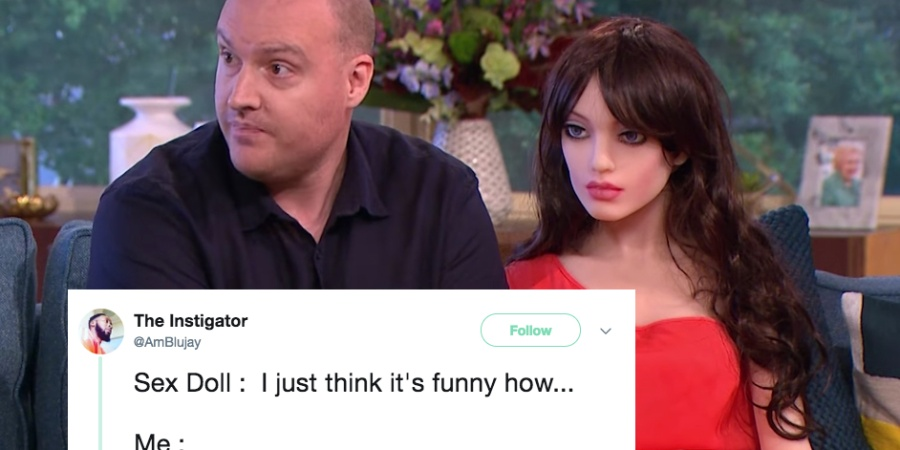 Sex Robots Are Officially Here And The Twitter Memes Are Hilarious