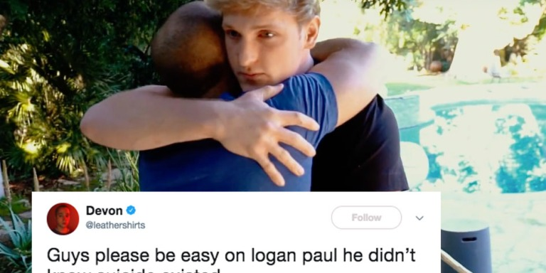 Logan Paul Tried To Make Up For His Controversial Video With A Dead Body By Making Another Video AboutSuicide