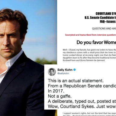 This GOP Candidate Just Posted The Most Fucked Up Facebook Post About 'She Devil' Feminists