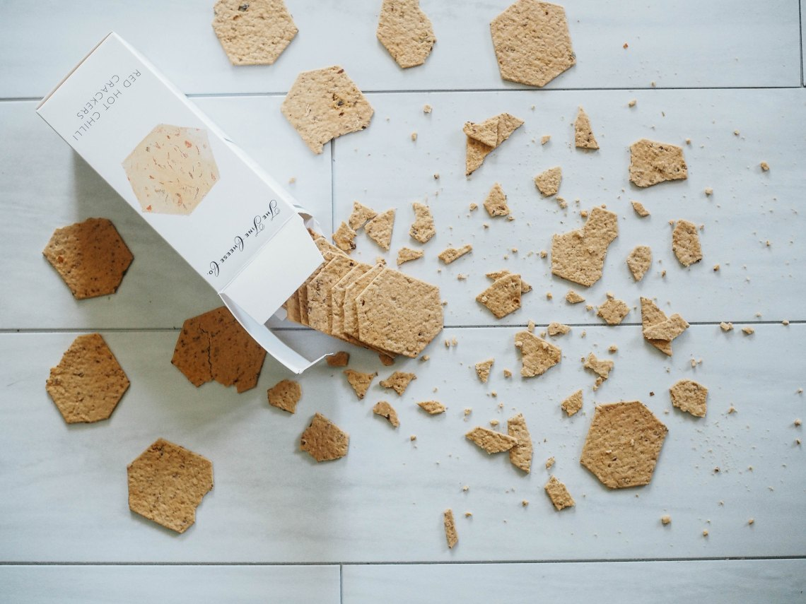 messy crackers