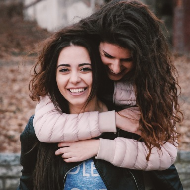 happy girls hugging, best friends, sisters, hugging, love, love you, things I don't tell you enough