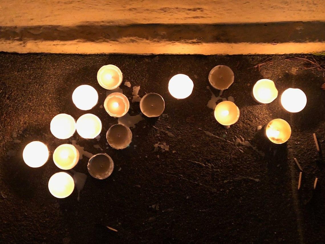 candles vigil parkland shooting