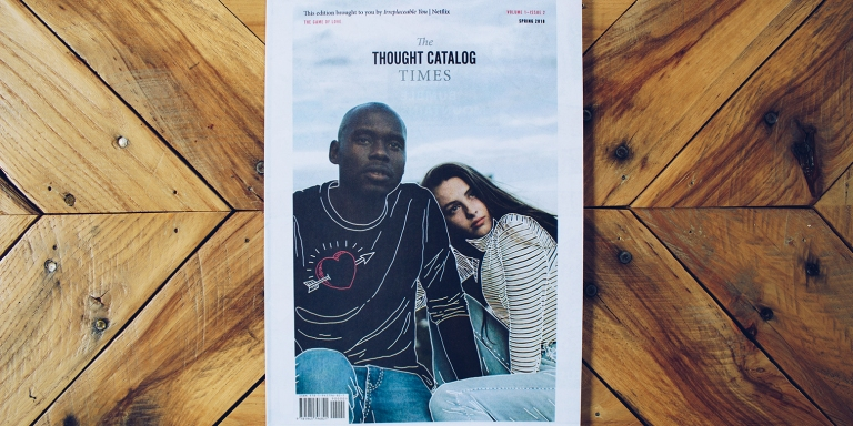 Lovers of Love, Introducing The Thought Catalog Times: Edition02
