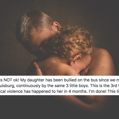 A Mother Posted Heartbreaking Pictures Of Her Crying Daughter To Facebook For This Powerful Reason