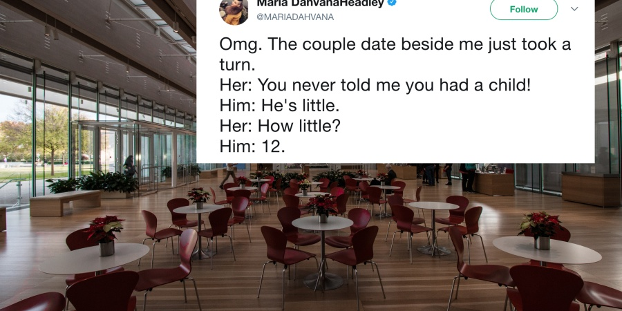 This Woman Found Out Her BF Had A Secret Kid And An Eavesdropping Stranger Tweeted The Whole Damn Thing