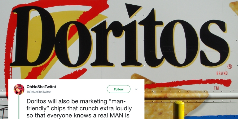Doritos Are Making New 'Lady-Friendly' Chips That Don't Crunch And No, This Isn't AJoke