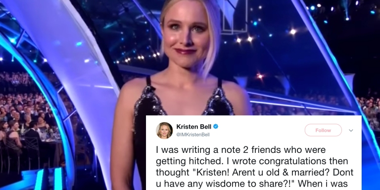 Kristen Bell Revealed The Secrets To A Long And Happy Relationship And You're Going To Want To Write TheseDown