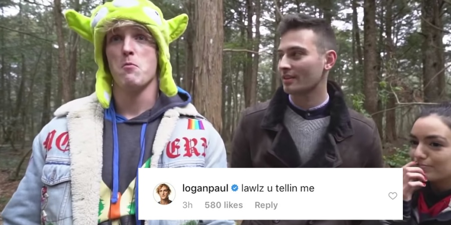 Logan Paul Got Brutally Dragged For Posting This Dumbass Comment On Cardi B's Instagram