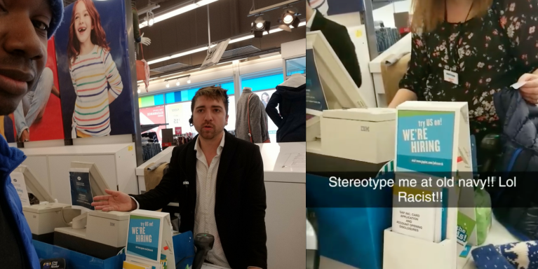 These Racist Old Navy Employees Accused A Black Customer Of Stealing His Own Jacket And He HasReceipts
