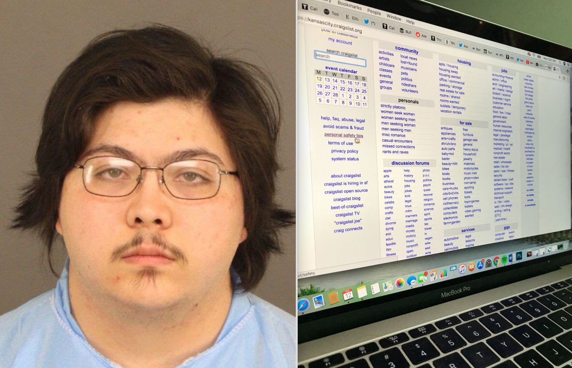 Joseph Michael Lopez, the 22 year old Dominoes employee accused of murdering Natalie Bollinger after he claimed she hired him to kill her on Craigslist