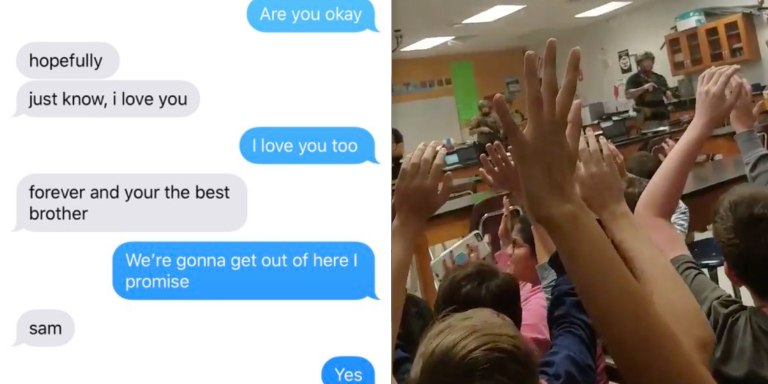 These Two Brothers Were Texting Each Other From Inside The Florida Shooting And The Messages AreHeartbreaking